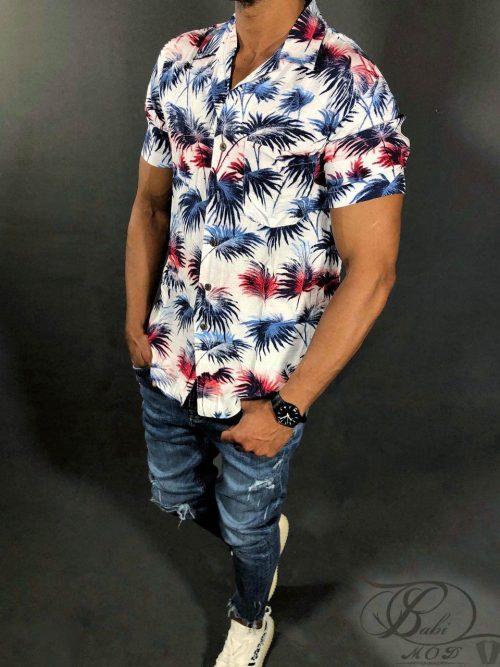 پیراهن هاوایی GEORGE کد 1087, پیراهن هاوایی, پیراهن, پیراهن دکمه دار, پیراهن GEORGE, بابی مد, babimod, پیراهن مردانه, پیراهن زنانه