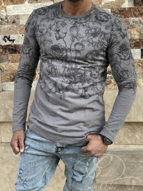 پیراهن دورس طرح گل D&A