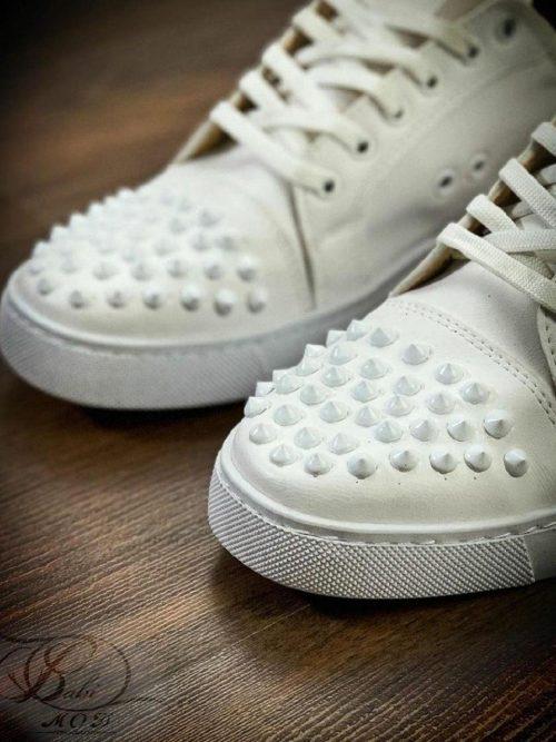 کفش اسپرت مردانه سفید LOUBOTTIN کد 6132